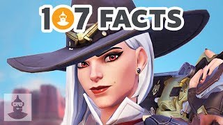 107 Overwatch Facts You Should Know Part 4 | The Leaderboard