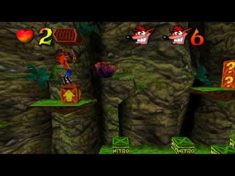 Crash Bandicoot 2 (Eboot) [PSX-PSP] [Español] [MF-MG-GD
