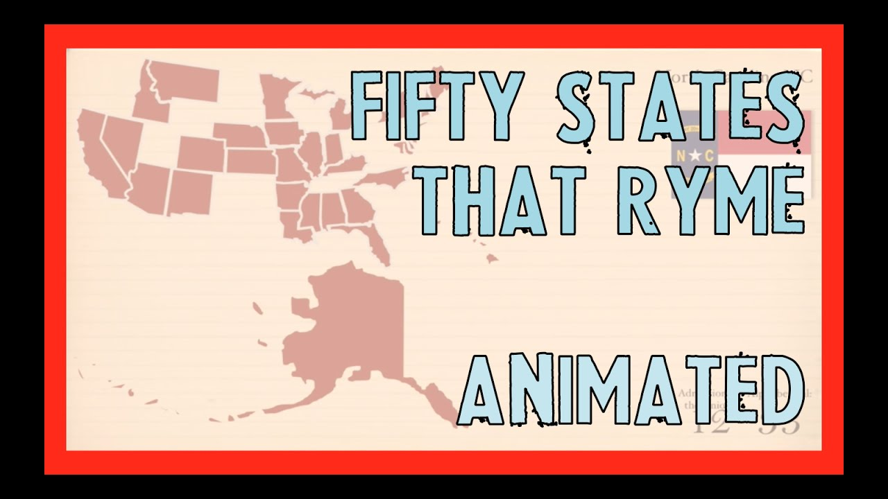 Fifty States That Rhyme