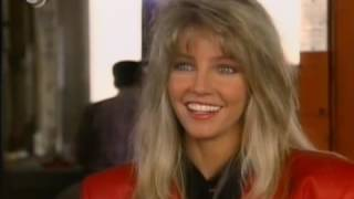 Heather Locklear In Full Red Leather. WOW