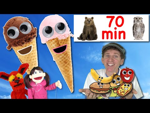 Ice Cream Song and More | 70 Minutes Dream English Songs And Nursery Rhymes With Matt