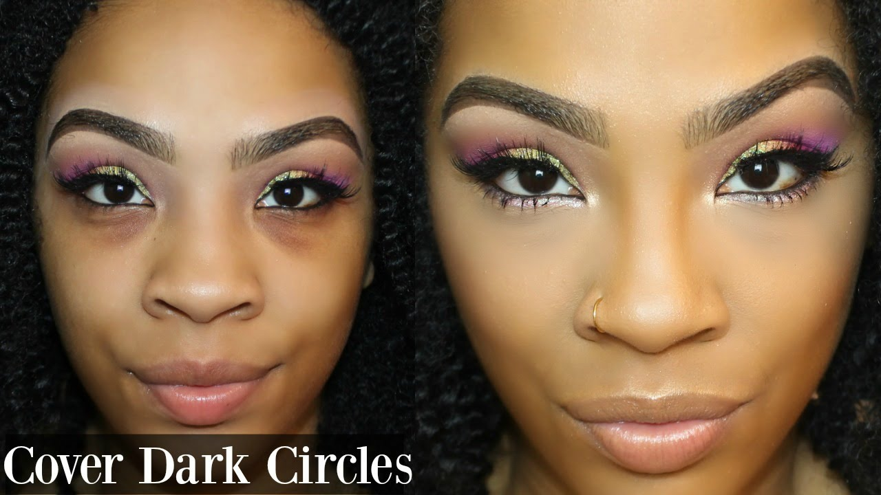 Makeup to cover up dark circles under eyes