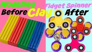 Modeling Clay Fidget Spinner DIY (Make it Monday) Fidget Spinner DIY