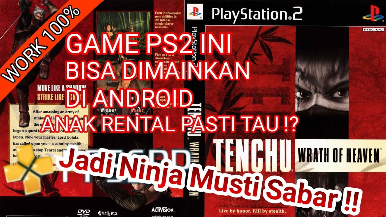 download game ppsspp tenchu 3 mod