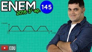???? ENEM 2016 3ª Aplicação Matemática #10 ???? Interpretação de Gráfico com pegadinha