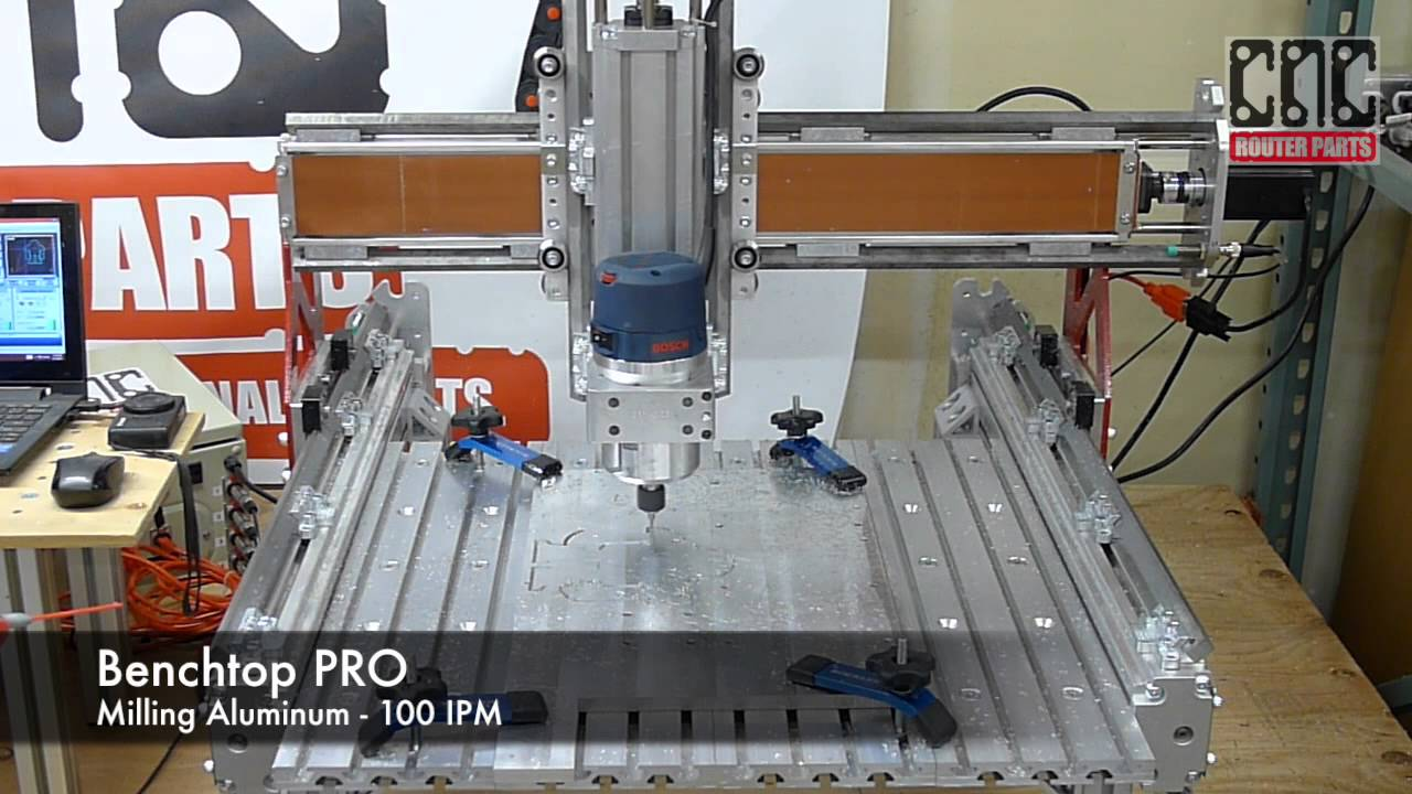Quot Benchtop Pro Quot From Cnc Router Parts Youtube