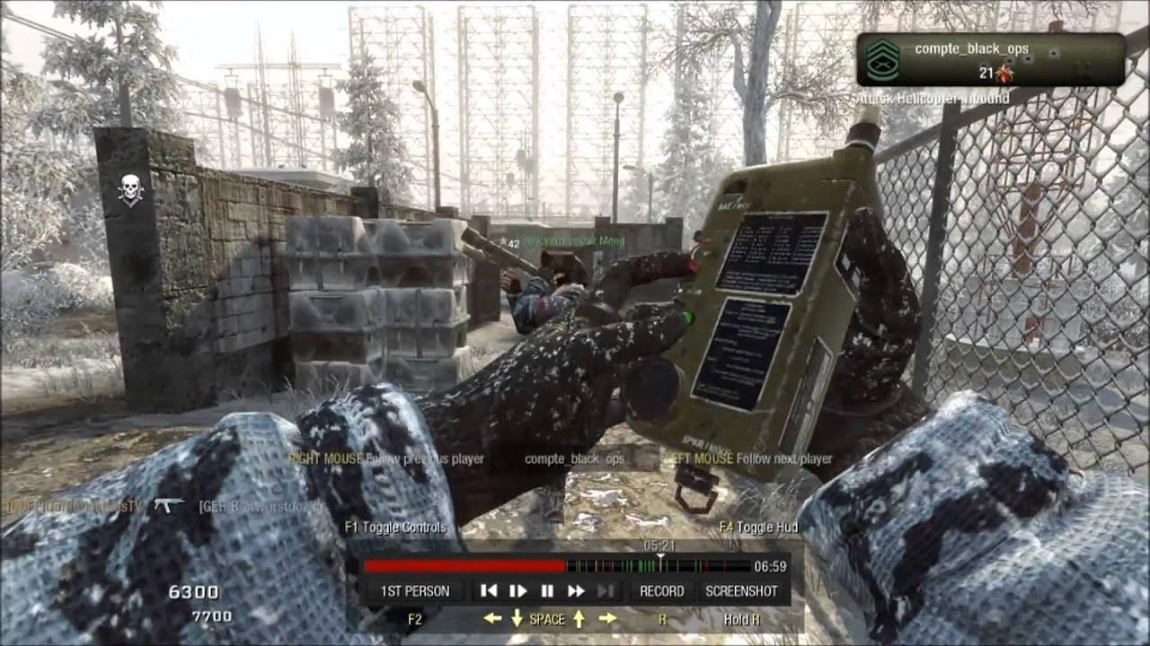 black ops 1 killstreaks