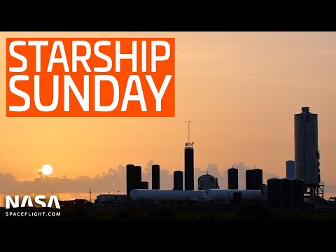 SpaceX Boca Chica - Sunday Tour Through Starship City