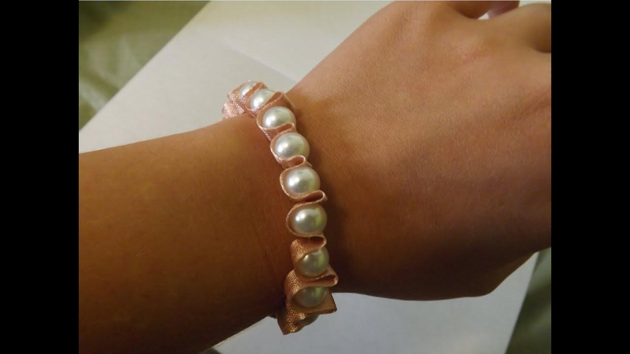 Sehr Comment faire un bracelet cute et chic - DIY - YouTube IZ61