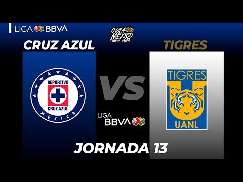 Cruz Azul U.A.N.L. Tigres Goals And Highlights
