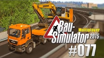 Bau-Simulator 2015 Gold Multiplayer #077 - Das Bagger-Desaster! CONSTRUCTION SIMULATOR