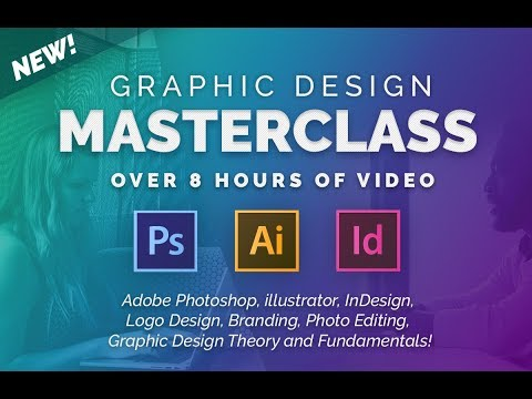 It's Here! The Graphic Design Masterclass - Learn GREAT Design