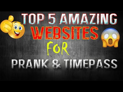 5 Amazing Websites On Internet For Timepass & Prank | OMG These Are Really LOL Websites