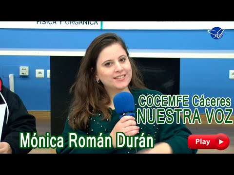 COCEMFE Nuestra Voz - Mónica Román Durán
