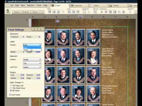 LumaPix: YearBook Fusion Demo