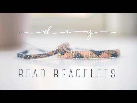 DIY beaded bracelet + free printable