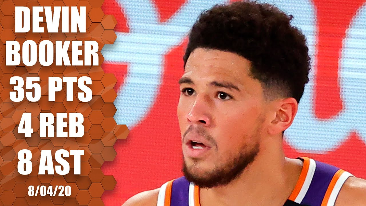 Devin Booker reacts to Suns going 8-0 in bubble, claims he's a 'big ...