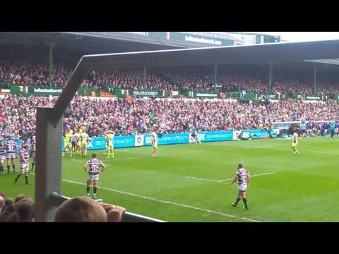 Leicester Tigers vs  Sale Sharks