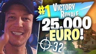 Duo Vs Squad 25.000 Euro Turnier in Fortnite | SpontanaBlack