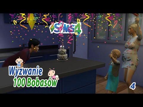 """The Sims 4. Wyzwanie: 100 Bobasów (Odc.4) """"Nalot ciotek"""""""