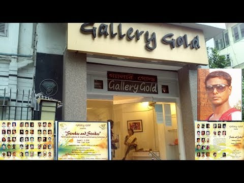 Gallery Gold art exhibition Strokes and Strikes - in Kolkata   2018