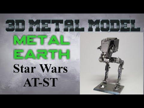 Metal Earth Build - Star Wars AT-ST