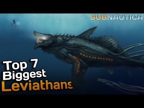 Subnauticas SCARIEST creatures - Leviathans!