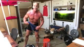 Weird leg, shoulder, and arm workout but NO TRICKS!