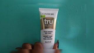 NEW Covergirl TruBlend Face Primer for Oily Skin FULL DAY Review!