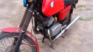 Двигатель Ява 350/634 (Тест / Test 19.05.2016) после кап ремонта. 1 часть.(Двигатель Ява 350/634 (Тест / Test 19.05.2016) после кап ремонта. 1 часть. Мотоцикл является стендом для испытания мото..., 2016-05-19T20:59:03.000Z)