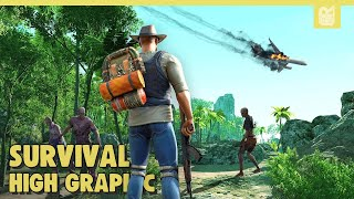 10 Game Android Survival Terbaik 2020 | High Graphic
