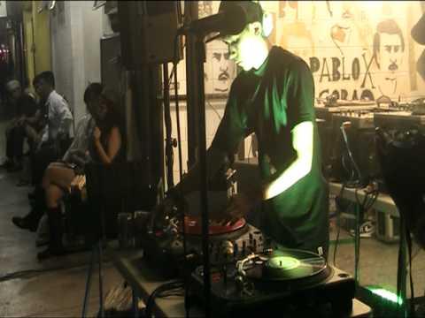 DJ Supreme Fist kickin' it at Cubao Expo