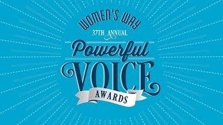 2014 womens way powerful voice awards