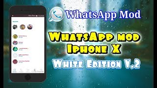 Gambar cover WhatsApp Mod Iphone X White Edition V. 2