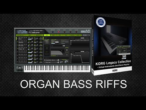 M1 Deep House Organ Bass Riffs (Free MIDI Downloads)