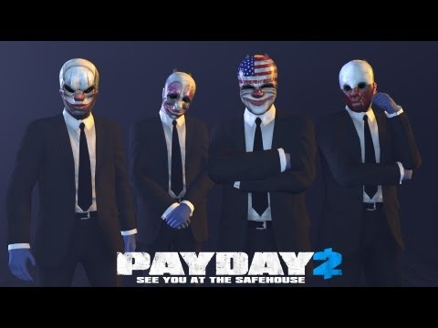 Payday 2 - Bank heist: Deposit - Stealth run