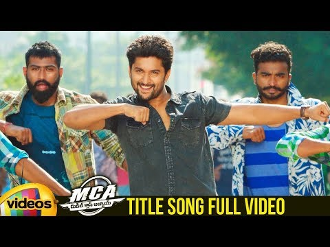 MCA Telugu Movie Songs | #MCA Title Song |...
