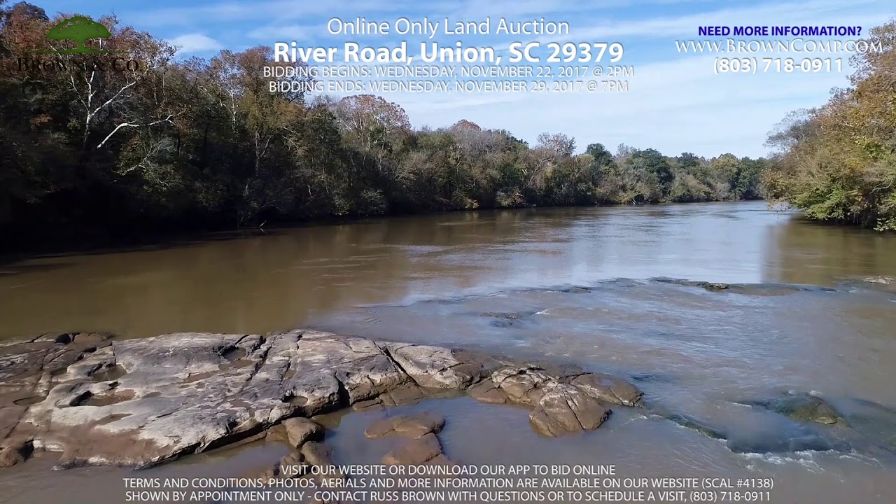 56 94 Acres - Waterfront on the Broad River - Union County, SC