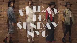 SLY LANG 2014AWシーズンテーマ「FRIDAY TO SUNDAY NYC」。 今回の動画では、 プロジェクトディレクターを努める「有末麻祐子」が、 2014年9月発売のアイ...