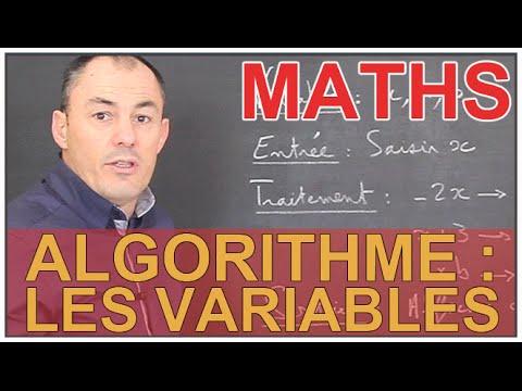 Algorithme : les