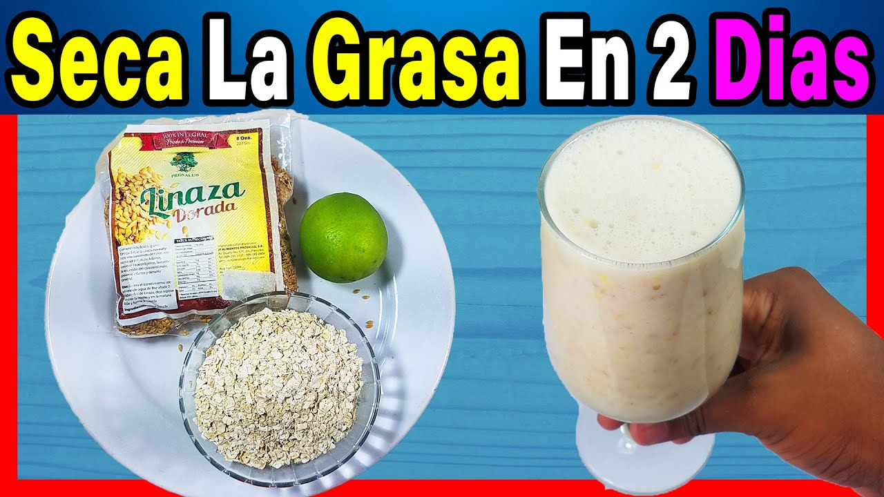 El Seca Barriga | Sin dieta Le Llaman El Chupa Grasa Casero Te Adelgaza Rapido