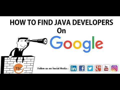 How To Find Resumes On Google  | Boolean Search | Image Search Java Developer Example