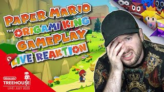 🔴 NINTENDO TREEHOUSE: LIVE | JULI 2020 mit PAPER MARIO THE ORIGAMI KING 🎇 Domtendos Live Reaktion