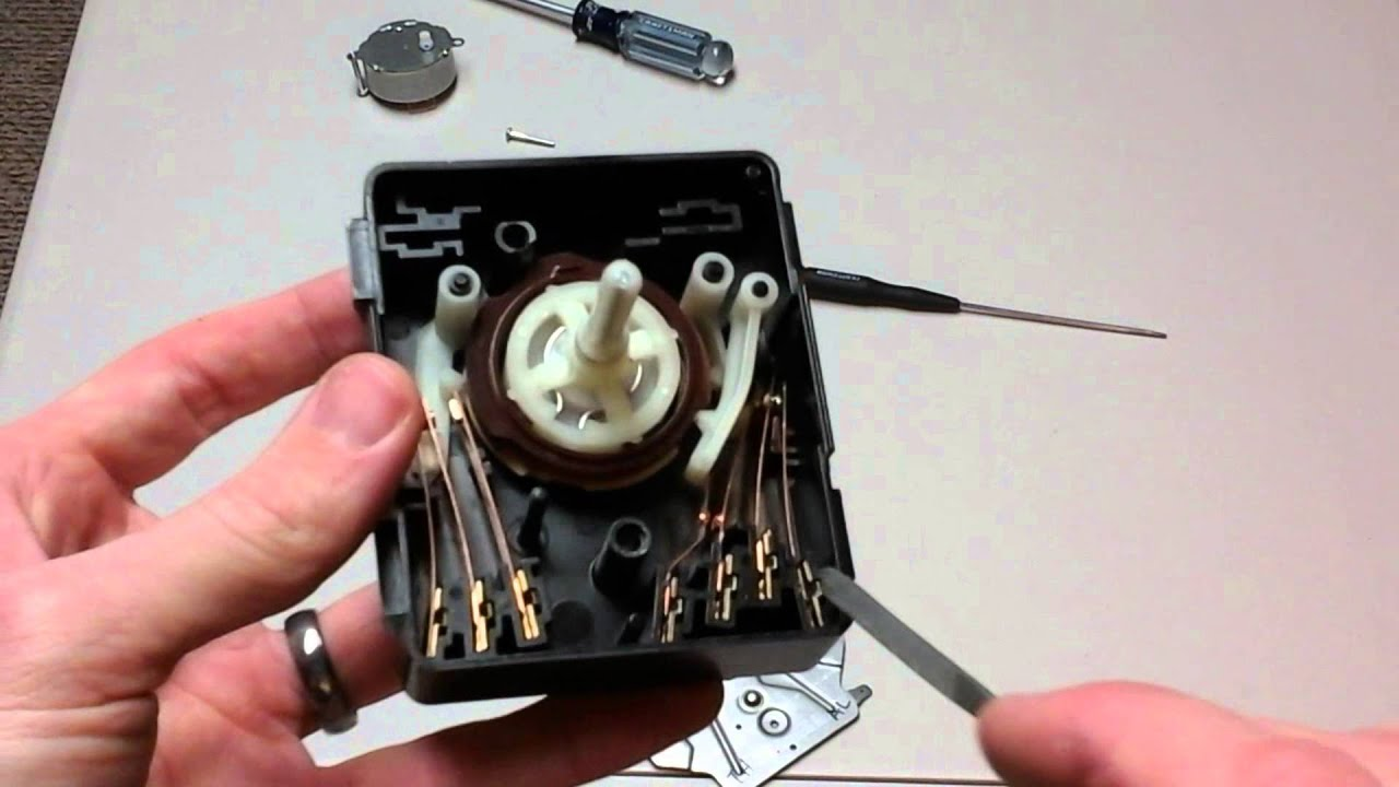 Test And Repair A Clothes Dryer Switch Youtube