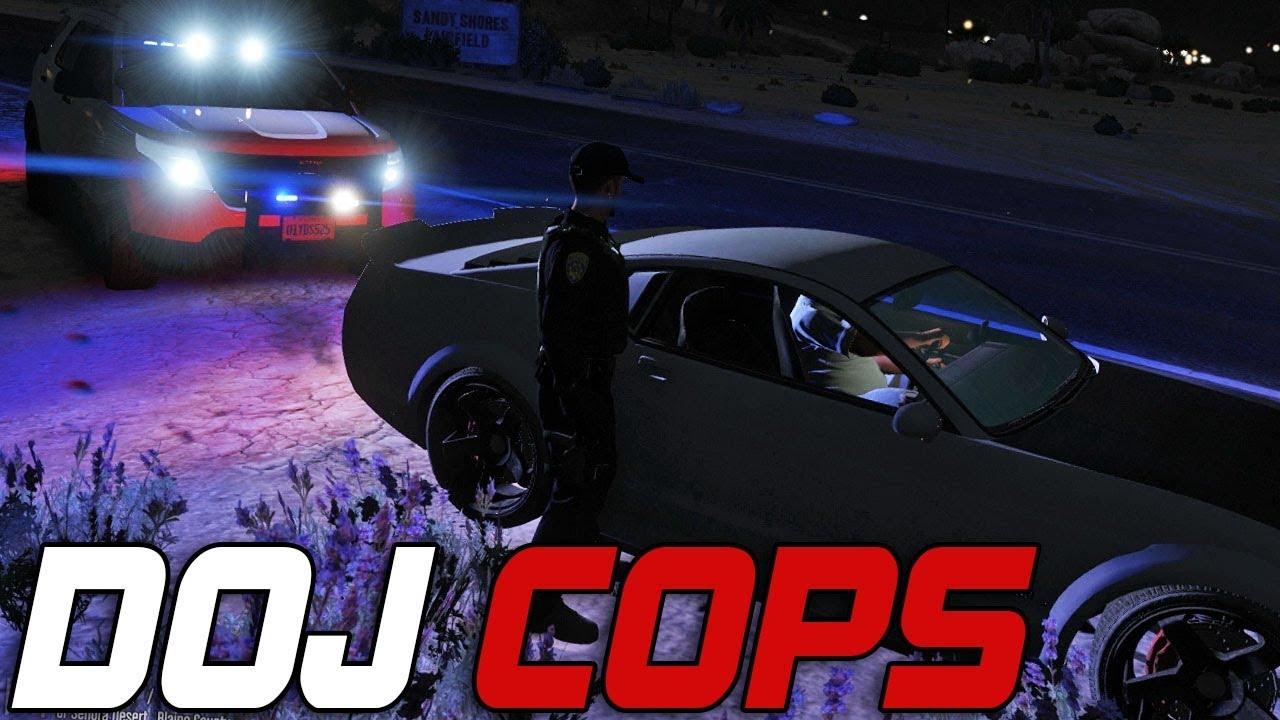 Dept. of Justice Cops #374 - Crazy Drivers (Law Enforcement)