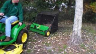 John Deere sweeper