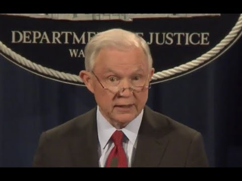 WATCH: Attorney General Jeff Sessions gives IMPORTANT Speech on MS 13 and Organized Crime