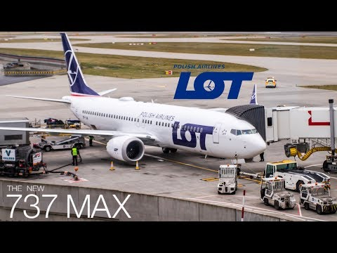 TRIP-REPORT LOT Polish Airlines 737MAX Inaugral First Flight // London-Warsaw