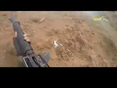 Comandante Do ISIS É Abandonado No Campo De Batalha