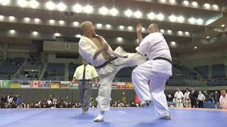 秋山史博(秋山道場)vs アルカディウシュ スキエニック(KWFポーランド)